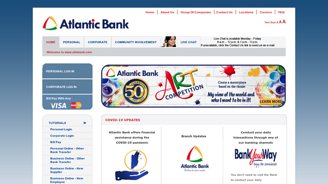 Atlantic-Bank API koppeling