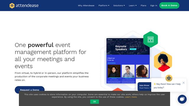 Attendease API koppeling