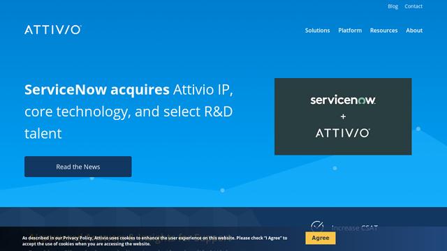 Attivio API koppeling