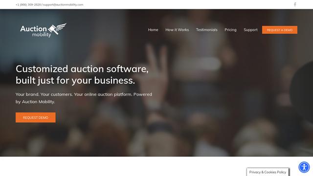 Auction-Mobility API koppeling