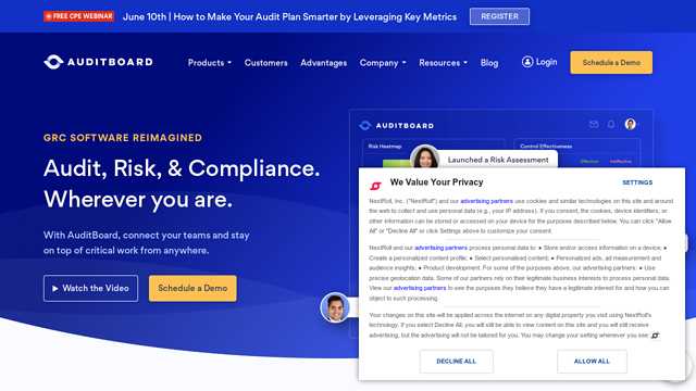 AuditBoard API koppeling