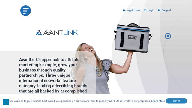 Avantlink API koppeling