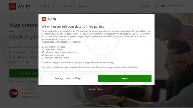Avira API koppeling