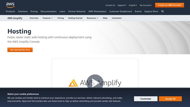 AWS-Amplify API koppeling