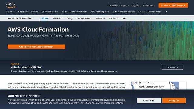 AWS-Cloudformation API koppeling