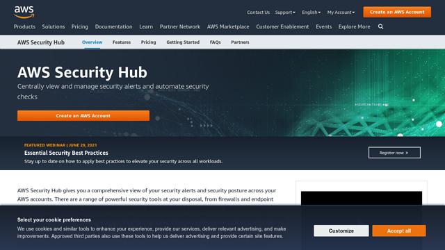 AWS-Security-Hub API koppeling