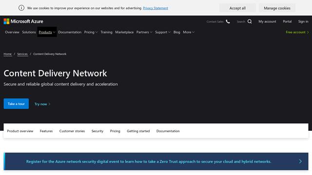 Azure-CDN API koppeling