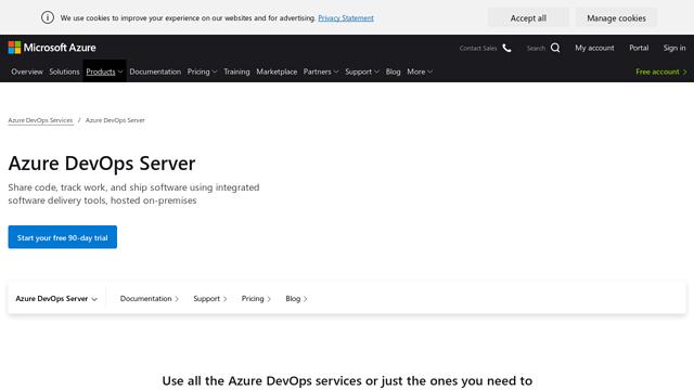 Azure-DevOps-Server API koppeling
