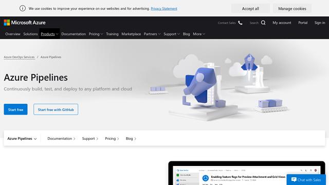 Azure-Pipelines API koppeling