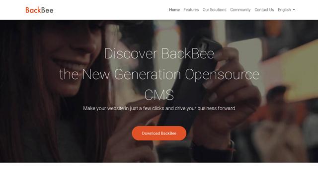 Backbee API koppeling