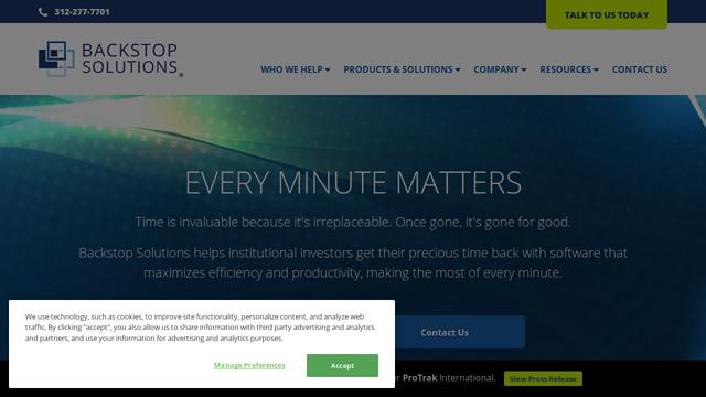 Backstop-Solutions-Group API koppeling