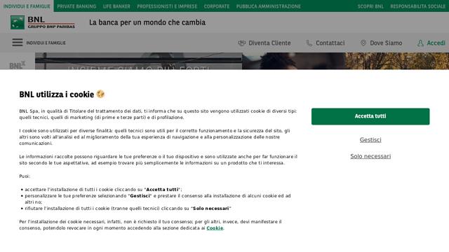 Banca-Nazionale-del-Lavoro API koppeling