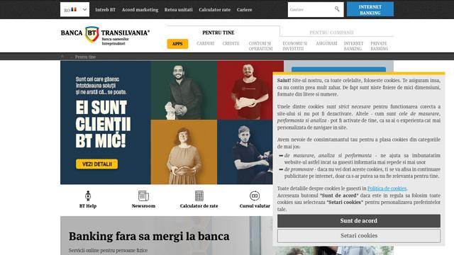 Banca-Transilvania API koppeling