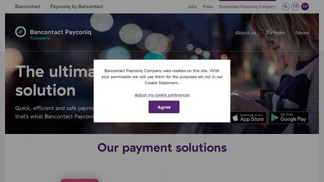 Bancontact-Payconiq-Company API koppeling