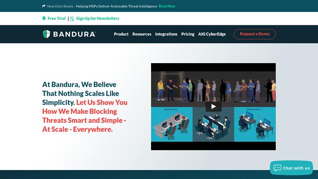 Bandura-Cyber API koppeling