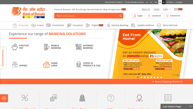 Bank-of-Baroda API koppeling