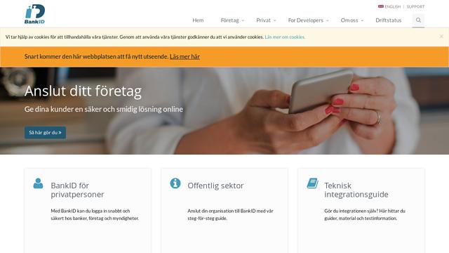 BankID-Sverige API koppeling