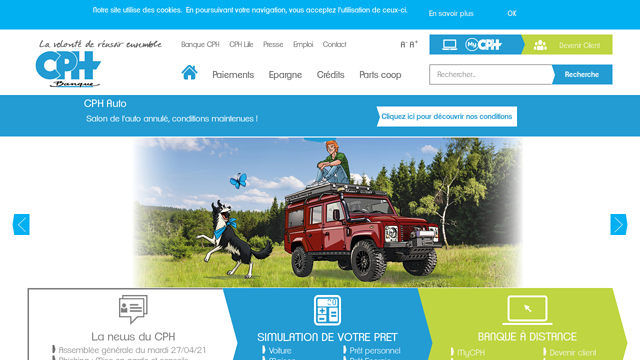 Banque-CPH API koppeling