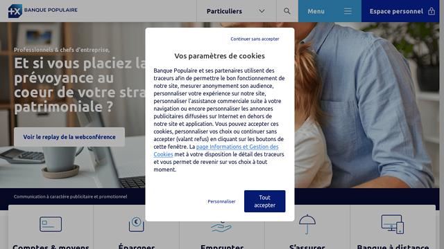 Banque-Populaire API koppeling