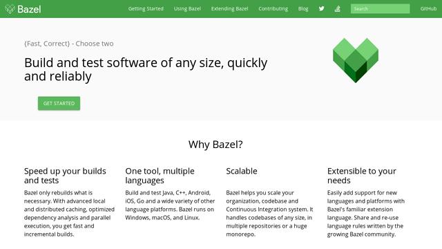 bazelbuild API koppeling