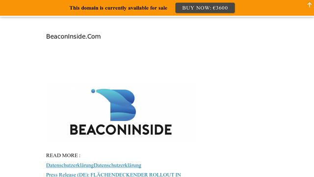 Beaconinside-Proximity-Dmp API koppeling