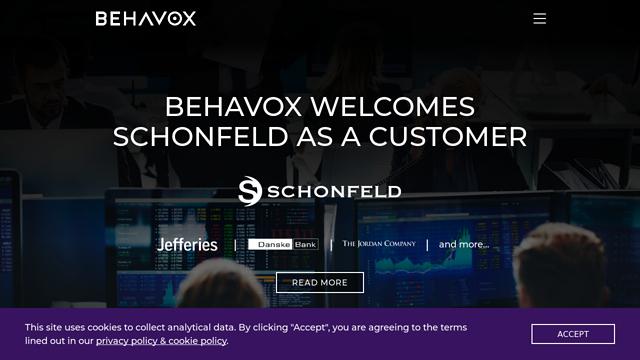 Behavox API koppeling