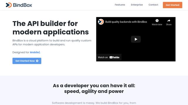 BindBox API koppeling