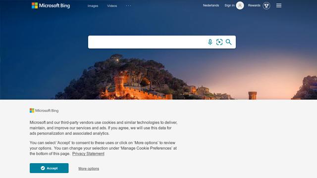 Bing API koppeling