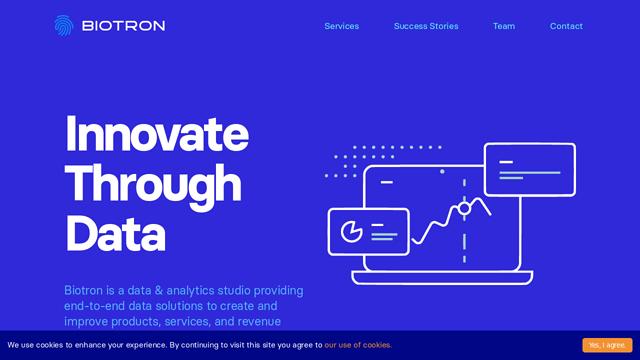 Biotron.io API koppeling