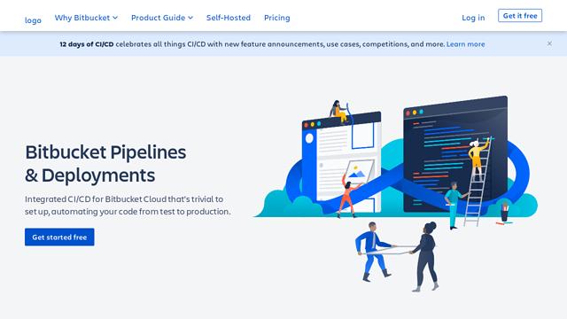 Bitbucket-Pipelines API koppeling