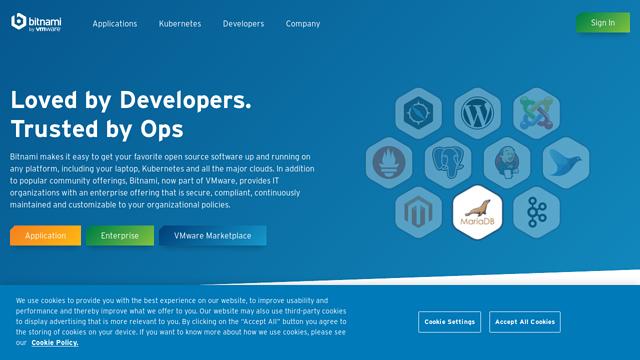 Bitnami API koppeling