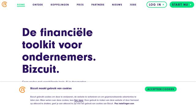 Bizcuit API koppeling