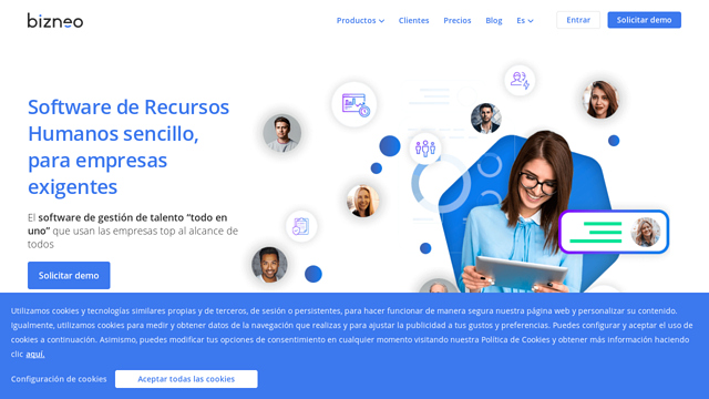 Bizneo API koppeling