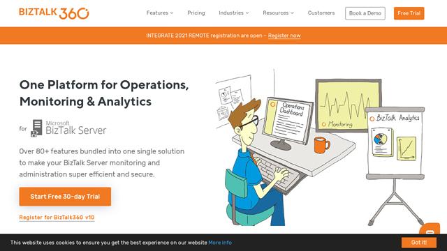 BizTalk360 API koppeling