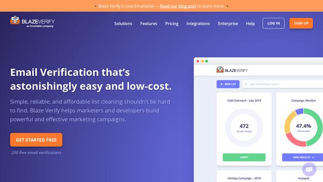 Blaze-Verify API koppeling