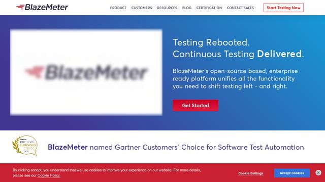 BlazeMeter API koppeling