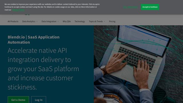 Blendr.io API koppeling