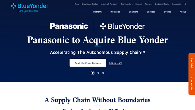 Blue-Yonder API koppeling