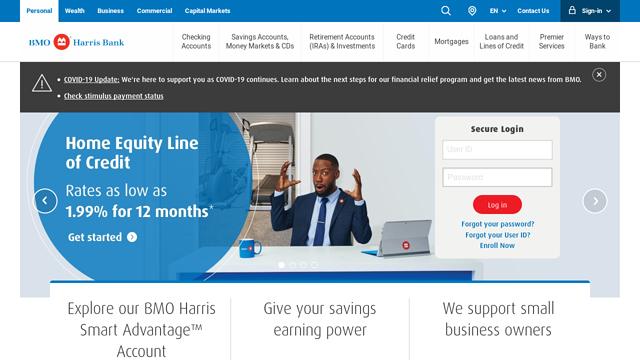 BMO-Harris-Bank API koppeling