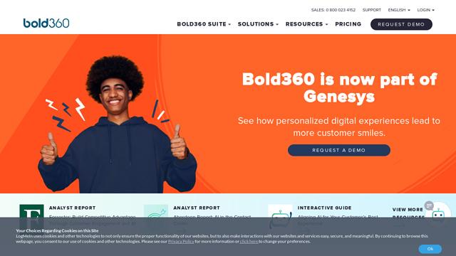 Bold360 API koppeling