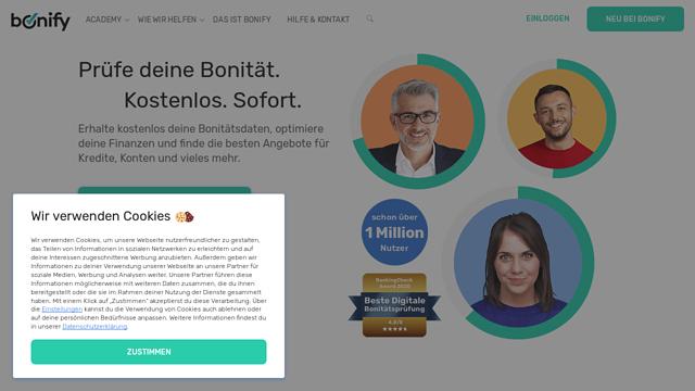 bonify API koppeling
