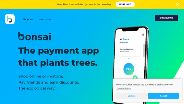 bonsai API koppeling