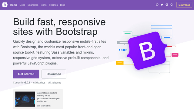Bootstrap API koppeling