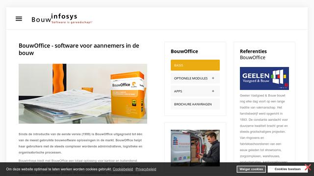 BouwOffice API koppeling