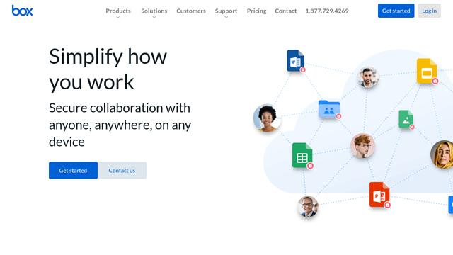 Box API koppeling