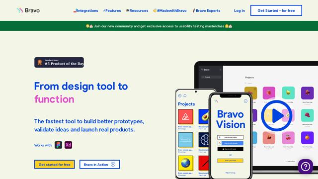 Bravo-Studio API koppeling