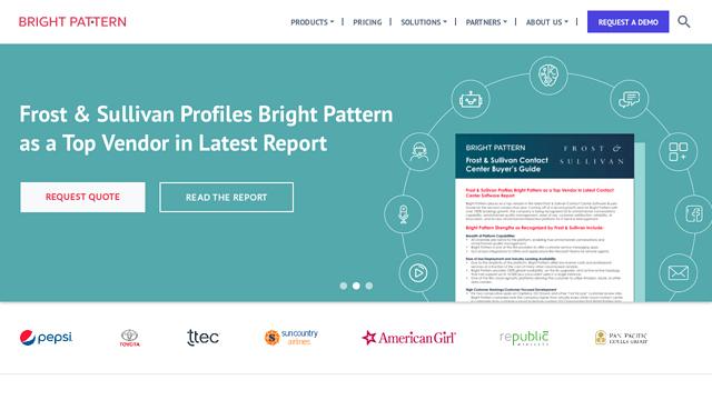 Bright-Pattern API koppeling