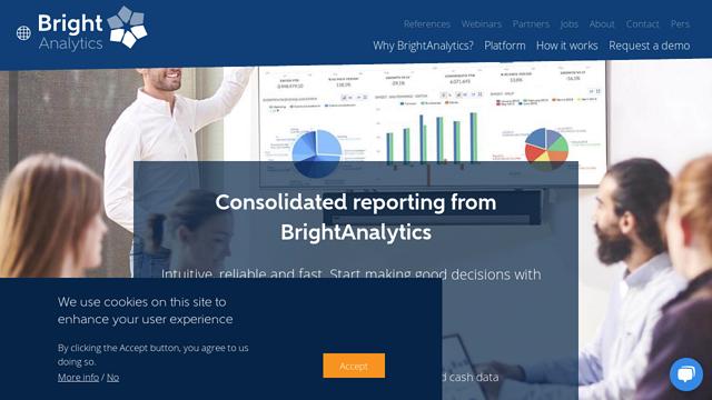 BrightAnalytics API koppeling