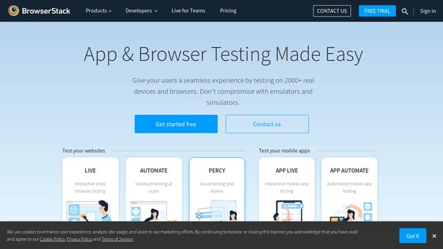 BrowserStack API koppeling
