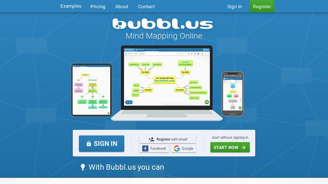 Bubbl.us API koppeling